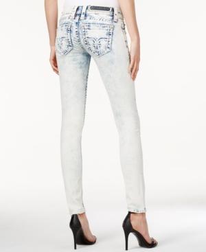 Rock Revival Stonewashed Skinny Jeans  Celie Wash