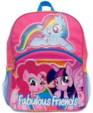 My Little Pony Little Girls' or Toddler Girls' Fabulous Friends Backpack