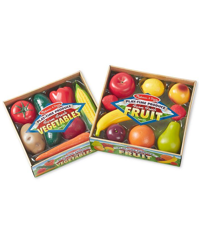 Melissa and Doug - Kids' Combo Fruit & Veggies Set