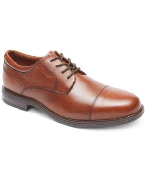 Rockport Men's Essential Details Ii Cap Toe Waterproof Oxfords Men's Shoes