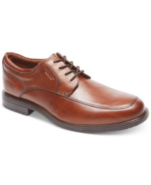Rockport Men's Essential Details Ii Apron Toe Waterproof Oxfords Men's Shoes