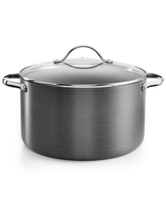 Tools of the Trade Hard-Anodized 8-Qt. Casserole with Lid, Only at Macy's