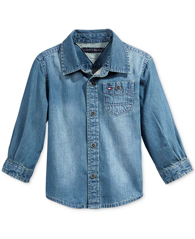 Tommy Hilfiger Baby Boys Max Denim Shirt