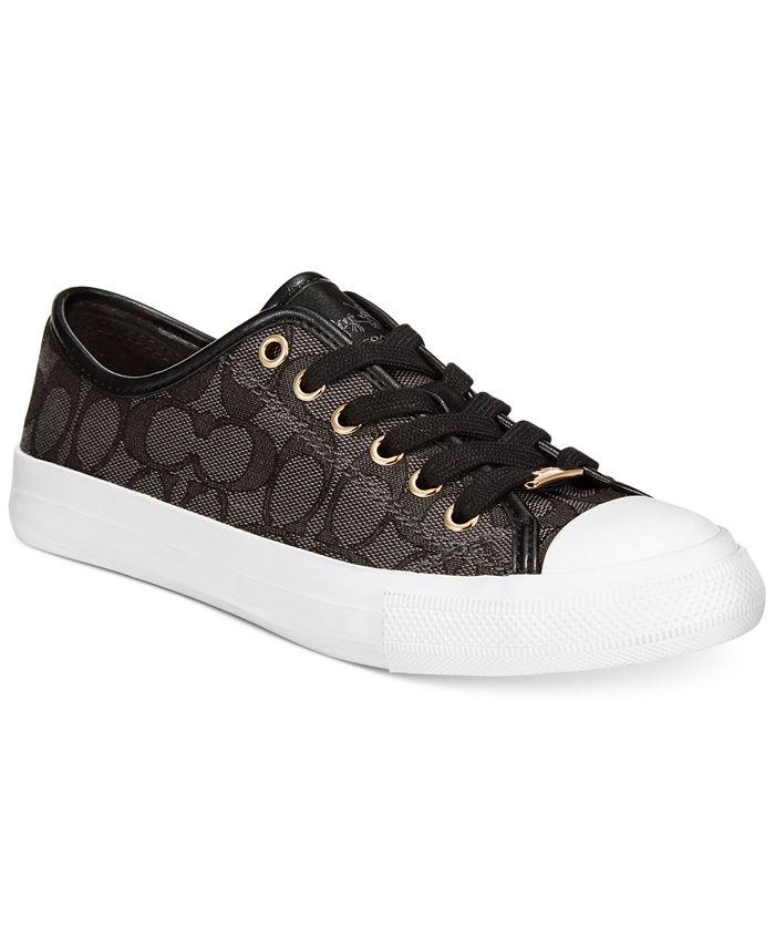 COACH - Empire Low Top Logo Sneakers