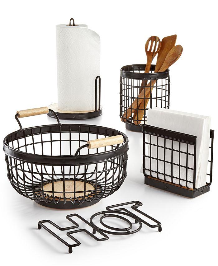 Martha Stewart Collection - Wire Kitchen Accessories