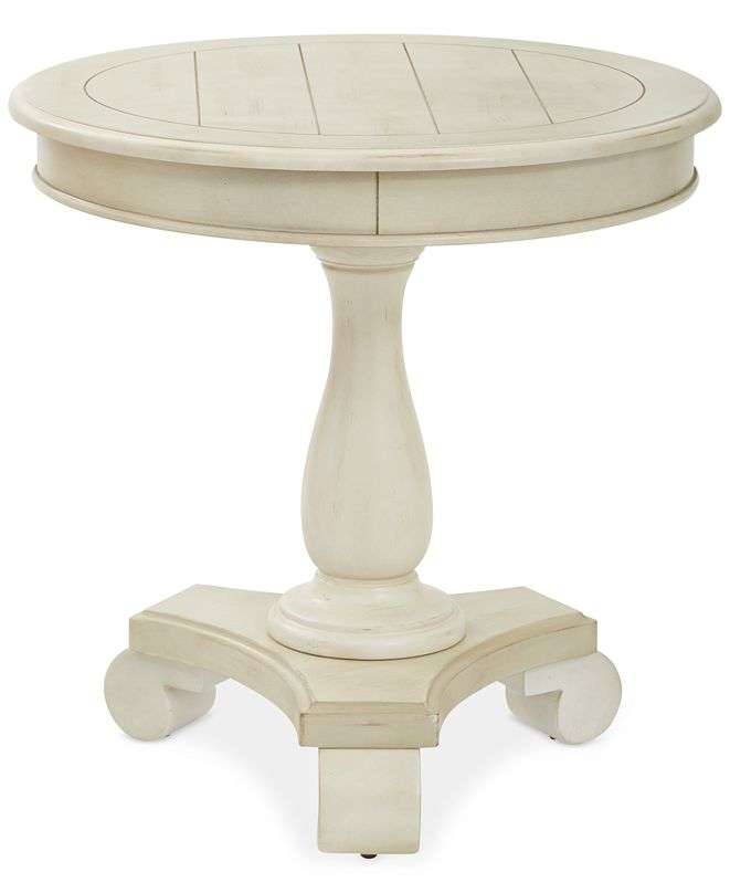 Office Star Wenda Round Accent Table