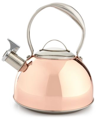 Belgique Copper-Plated Tea Kettle, Only at Macy's