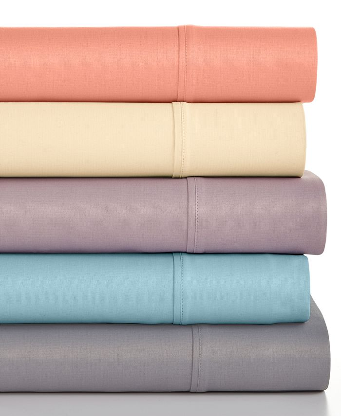 Sunham - Caprice Solid 350 Thread Count California King Sheet Set