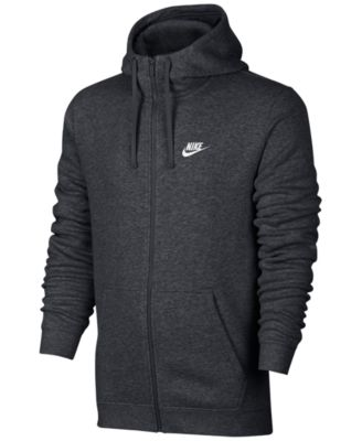 Image of Nike Men's Fleece Zip Hoodie