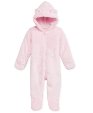 706c391b1233 UPC 706256482460 product image for First Impressions Baby Faux Fur  Snowsuit