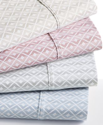 Sorrento Print 500 Thread Count 6 Piece Queen Sheet Set
