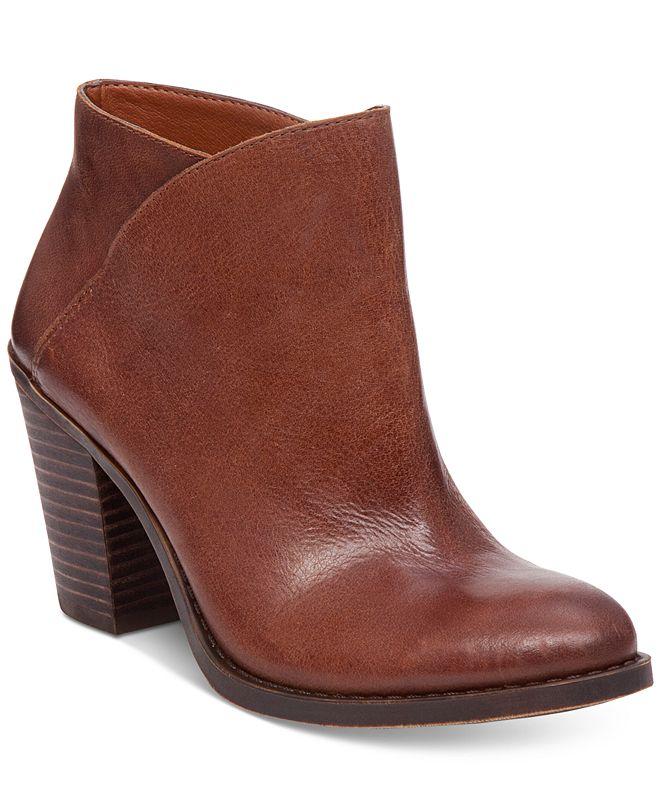 Lucky Brand Women's Eesa Block-Heel Booties