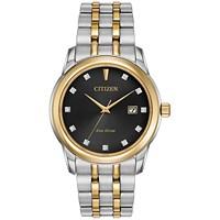 Citizen Mens Eco-Drive Diamond Accent Bracelet 39mm Watch Deals