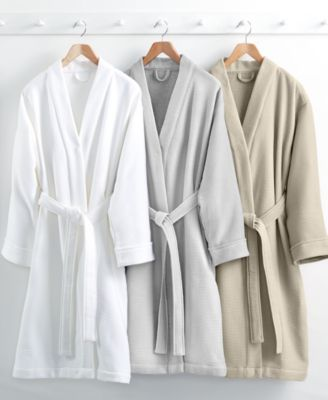 Hotel Collection Waffle Weave Robe, 100% Turkish Cotton, Only at Macy's