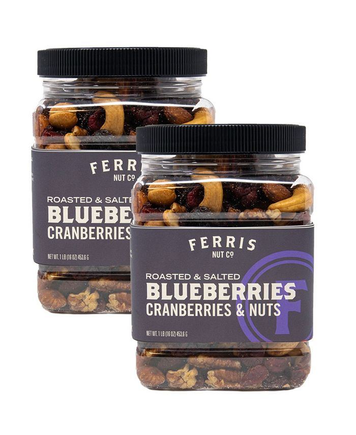 Ferris Coffee & Nut Co. - Roasted Salted Blueberries, Cranberries & Nuts