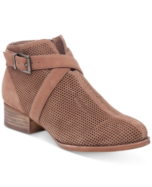 Vince Camuto Casha Perforated Booties Women's Shoes