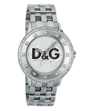 D&G Watch, Men's Prime Time Stainless Steel Bracelet DW0131