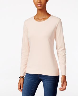 Image of Style & Co. Crew-Neck Top, Only at Macy's