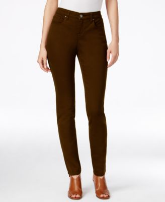 Image of Style & Co. Curvy-Fit Colored Wash Skinny Jeans, Only at Macy's
