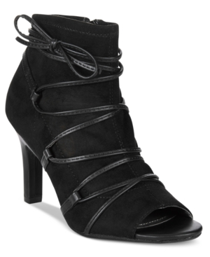 Rialto Rochelle Lace-Up Booties Women's Shoes