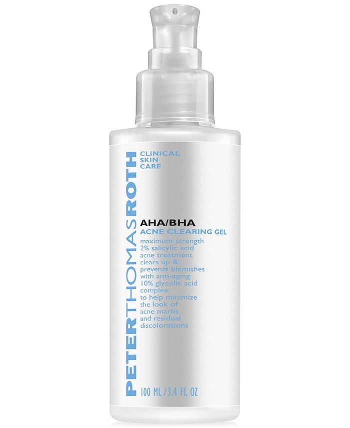 Peter Thomas Roth - AHA/BHA Acne Clearing Gel, 3.4 oz