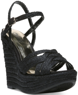 Carlos by Carlos Santana Brayden Two-Piece Platform Wedge Sandals Women's Shoes