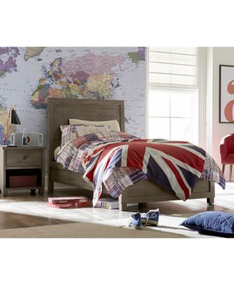 Canyon Platform Bedroom Furniture, 3 Piece Bedroom Set, Created for Macy's,  (Full Bed, Dresser and Nightstand)
