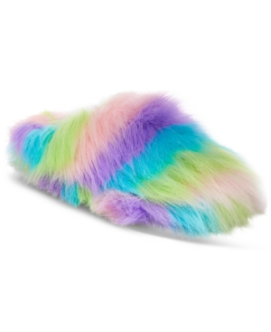 Betsey Johnson Xox DreamWorks Trolls Splash Fuzzy Slippers, Only at Macy's Women's Shoes