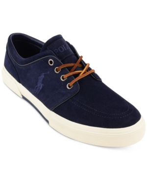 Polo Ralph Lauren Men's Faxon Sport Suede Sneakers Men's Shoes