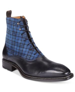 Mezlan Men's Grimaldi Plaid Boots Men's Shoes