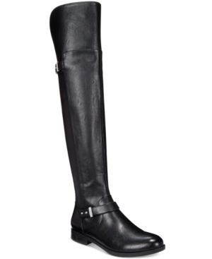 Bar Iii Daphne Over-The-Knee Riding Boots, Only at Macy's Women's Shoes