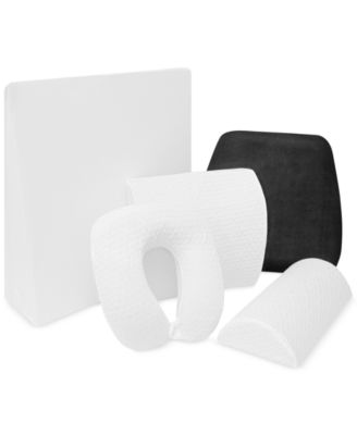 Gel-Infused Memory Foam Any Position Pillow
