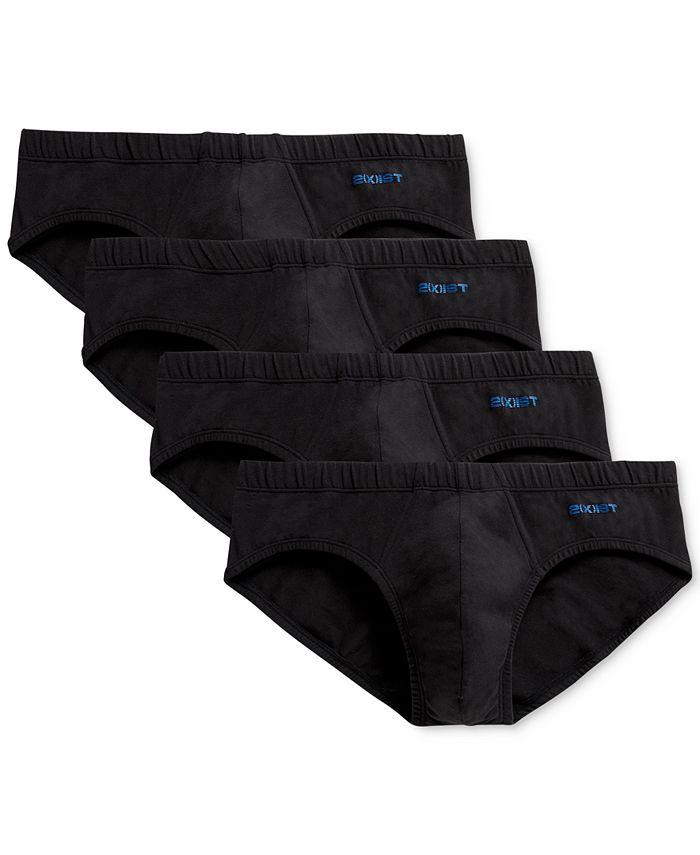 2(x)ist - Men's 4-Pk. Stretch Cotton Bikini Briefs