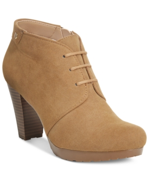 Giani Bernini Odele Lace-Up Booties, Only at Macy's Women's Shoes