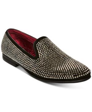 Steve Madden Men's Caviarr Rhinestone Loafers Men's Shoes
