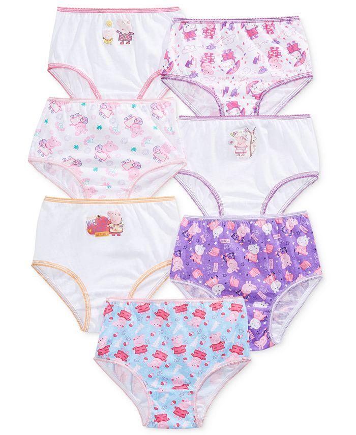 Disney - 7-Pk. Peppa Pig Underwear, Toddler Girls (2T-5T)