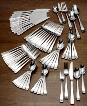 Oneida Flatware 18/10, Moda 65 Piece Set