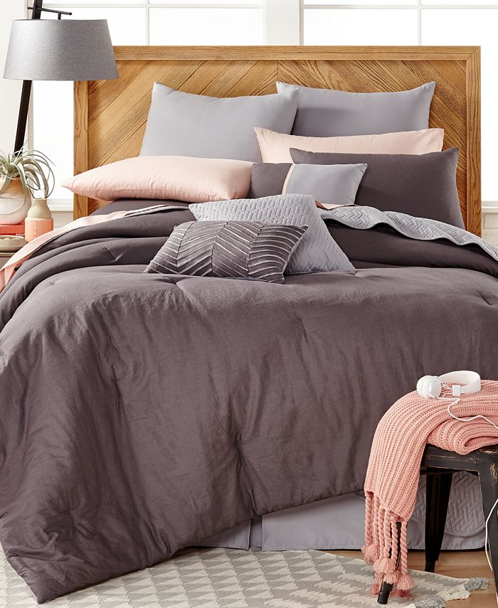 Baltic Linens - Washed Linen 14-Pc. King Comforter Set