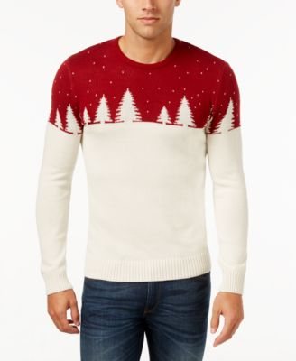 Celebrate Shop Men's Colorblocked Sweater, Only at Macy's