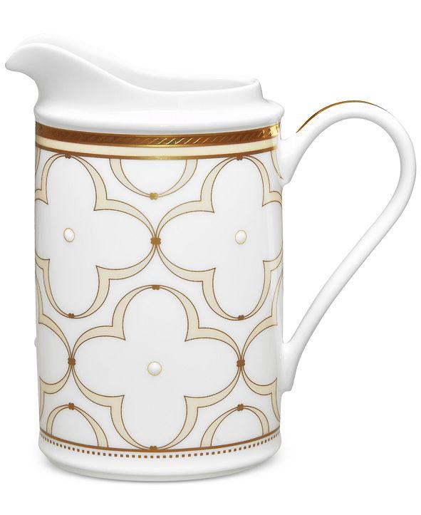 Noritake Trefolio Gold Dinnerware Collection Creamer
