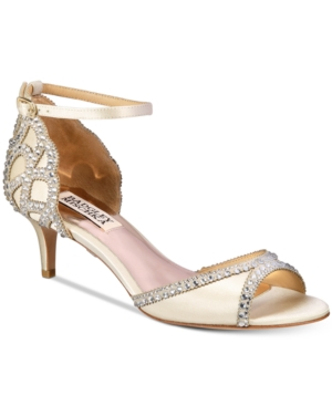 Badgley Mischka Gillian Peep-Toe d'Orsay Pumps Women's Shoes