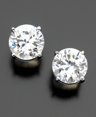 Eliot Danori Large Stud Earrings (4 ct. t.w.)