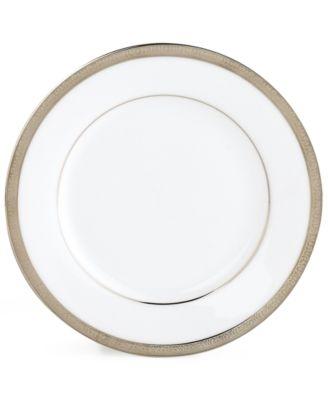 """Charter Club """"Grand Buffet Platinum"""" Bread & Butter Plate"""