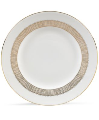 Vera Wang Wedgwood Gilded Weave Gold Salad Plate