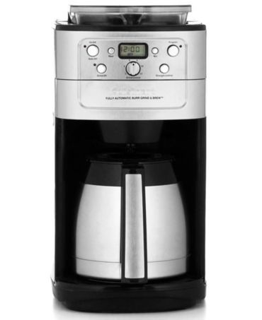 Cuisinart Automatic Grind And Brew Coffee Maker Problems : Cuisinart DGB-900BC Coffee Maker, Grind & Brew 12-Cup Thermal Automatic - Coffee, Tea & Espresso ...