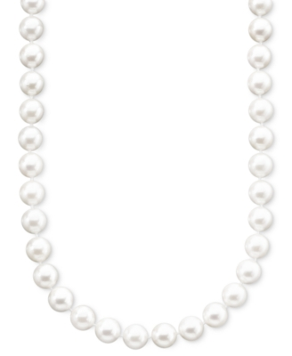 Cultured Akoya Pearl Necklace (6.5-7 mm)