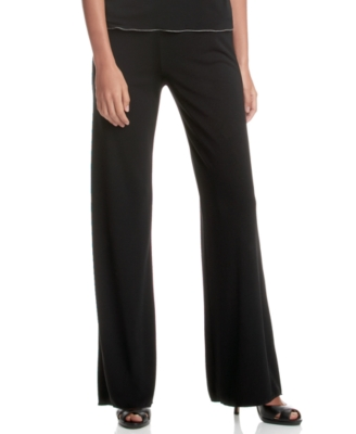 Studio M Petite Pants, Tie Front Boot Cut