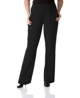 JM Collection Plus Size Pants, Pull On