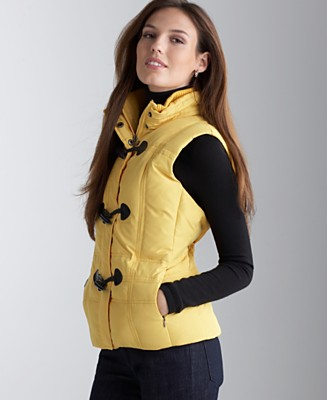 Charter Club Quilted Vest with Toggle Closures - Jackets & Blazers - Women's - Macy's