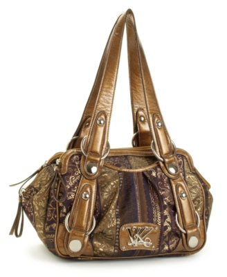 Kathy Van Zeeland Handbag, Triple Play Satchel, Medium
